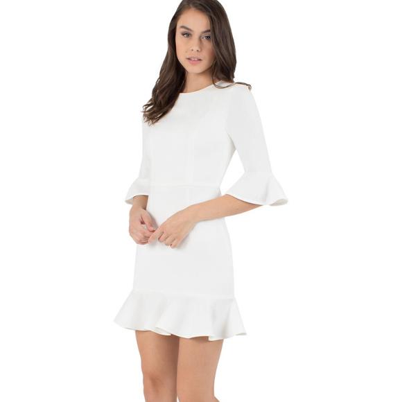 97131d4ad127 Black Halo White Brooklyn Mini Dress 0. 2